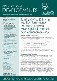 Educational Developments Issue 12.2 - Seda