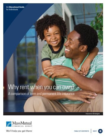 Why Rent When You Can Own? (PDF) - MassMutual