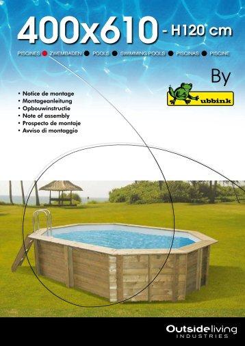400x610- H120 cm - La Maison du Jardin