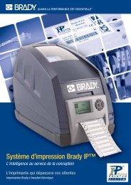 Système d'impression Brady IP™ - Davum TMC