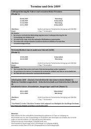 Termine und Orte 2009 - Mercedes-Benz Niederlassung Mainfranken