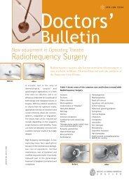 Radiofrequency Surgery - ellman