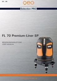 FL 70 Premium-Liner SP - geo-FENNEL GmbH