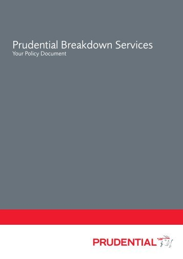 Prudential Breakdown Services