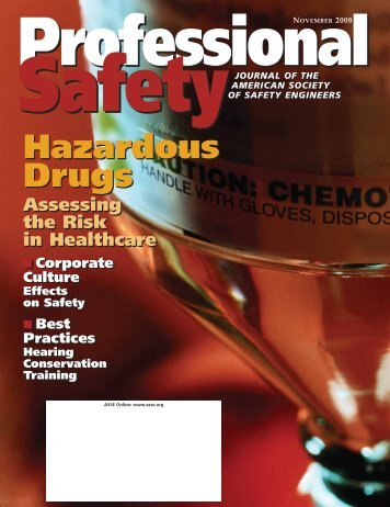 Hazardous Drugs Hazardous Drugs - ASSE Members - American ...