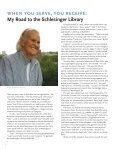 schlesinger library - Radcliffe Institute for Advanced Study - Harvard ... - Page 4