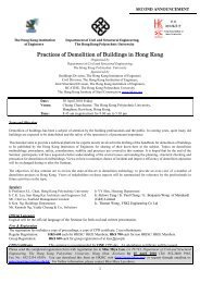 Practices of Demolition of Buildings in Hong Kong - The Hong Kong ...