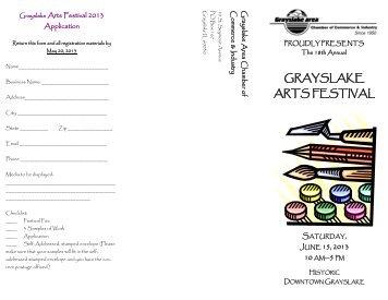 GRAYSLAKE ARTS FESTIVAL - Grayslake Chamber of Commerce