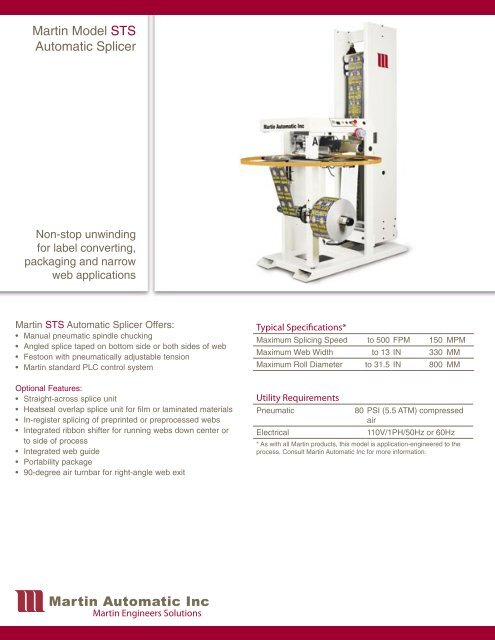 Product Brochure - English - Martin Automatic Inc
