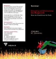 Seminar des Baugrunds - Nodig-Bau.de