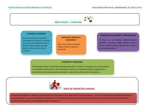 ASOCIACIÓN MALAGUEÑA SÍNDROME DE ASPERGER (AMSA)