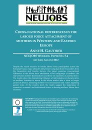 cross-national differences in the labour force attachment ... - Neujobs