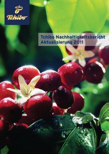 Tchibo Nachhaltigkeitsbericht – Aktualisierung 2011 (PDF)