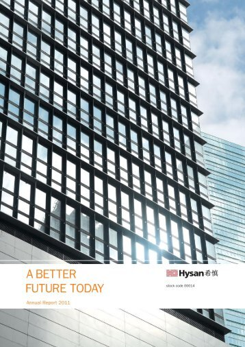 Annual Report 2011 - Hysan Development Company Limited