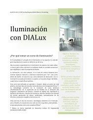 Iluminación con DIALux - UTN FRBB