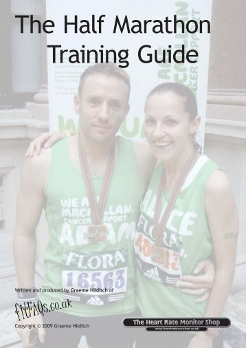 The Half Marathon Training Guide - Macmillan Cancer Support