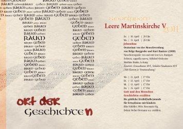Leere Martinskirche Sindelfingen - Evangelische Martinskirche ...