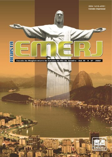 Tutela Jurisdicional - Emerj - Tribunal de Justiça do Estado do Rio ...