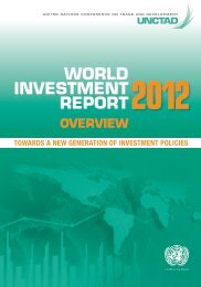 World Investment Report 2012 - unctad