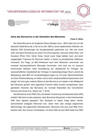 03 - Virologie Wien