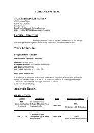 View full Profile - C Abdul Hakeem College of Engineering and ...