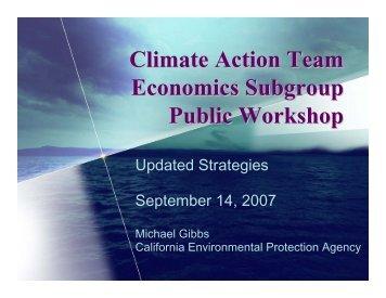 Strategies Update - California Climate Change Portal