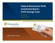 IT Audit - Federal Retirement Thrift Investment Board