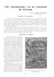 ^*El Nacimiento** en la Catedral de Crerona - Revista de Girona