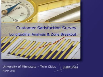 Customer Satisfaction Survey - Facilities Management - University of ...