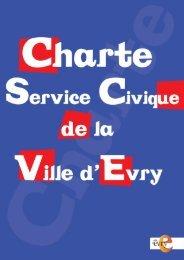 Charte du service civique 1,84Mo - Evry