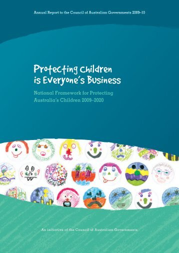 Protecting Children is Everyone's Business - Department of Families ...