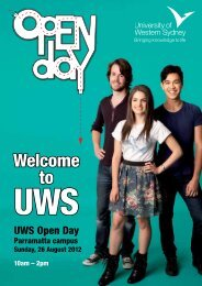 PRESENTATIONS – ACADEmIC - University of Western Sydney