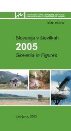 Slovenija v številkah 2005 - Statistični urad Republike Slovenije