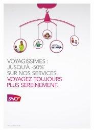VOYAGISSIMES : JUSQU'à -50%* SUR NOS ... - SNCF.com