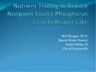 Bob Morgan, Ph.D. Beaver Water District Sarah Wrede, EI City of ...