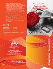 curso Fotografía de Producto - Universidad Iberoamericana León