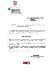 Prijedlog Izmjena i dopuna Programa javnih ... - Istarska županija