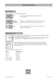 Monteringsanvisning Pelly System skruvar_SE_2010 ... - Bygghemma