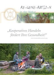 Regeneration in der Natur - Swingyourmolecules.com