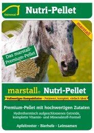 Apfeltrester - Bierhefe - Leinsamen - Marstall