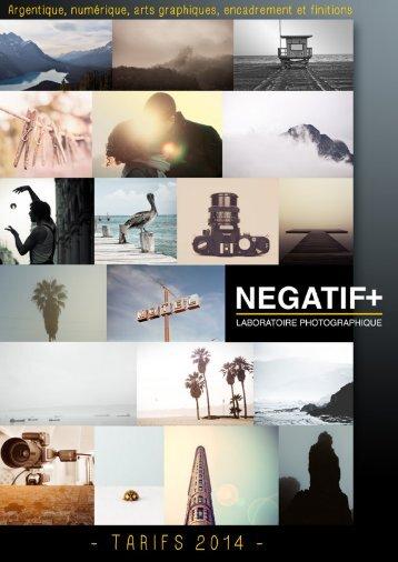 Télécharger catalogue - Négatif Plus