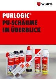 PURLOGIC® PU-Schäume im Überblick - Würth
