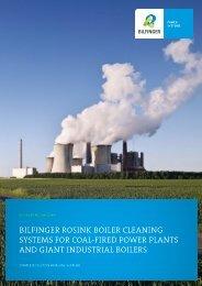 Boiler Cleaning Systems (Coal, Indstrial Boilers) - Bilfinger Rosink ...