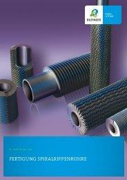 Fertigung Spiralrippenrohre - Bilfinger Rosink GmbH