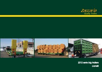 2012 serie big trailers carrelli - Zaccaria