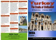 Travel - WEA