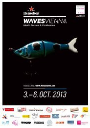 3.– 6. Oct. 2013 - Waves Vienna
