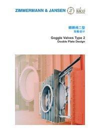 Goggle Valves Type 2 - Z&J Technologies GmbH