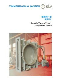 Goggle Valves Type 1 - Z&J Technologies GmbH