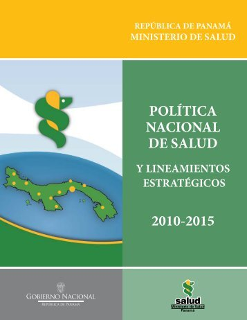 política nacional de salud - Ministerio de Salud